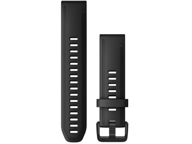 Garmin QuickFit Correa Reloj de Silicona 20mm para Fenix 6S, black